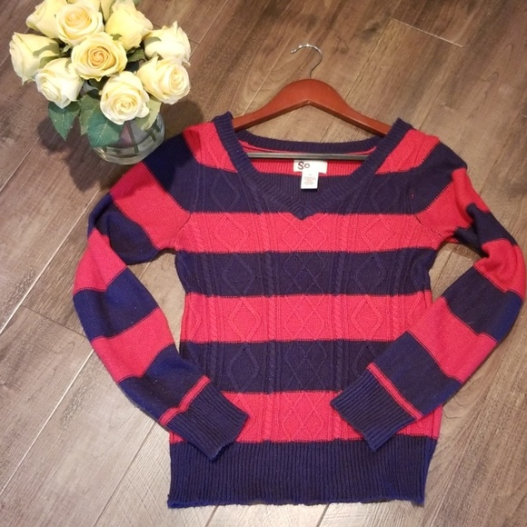 SO Sweaters - Striped weater